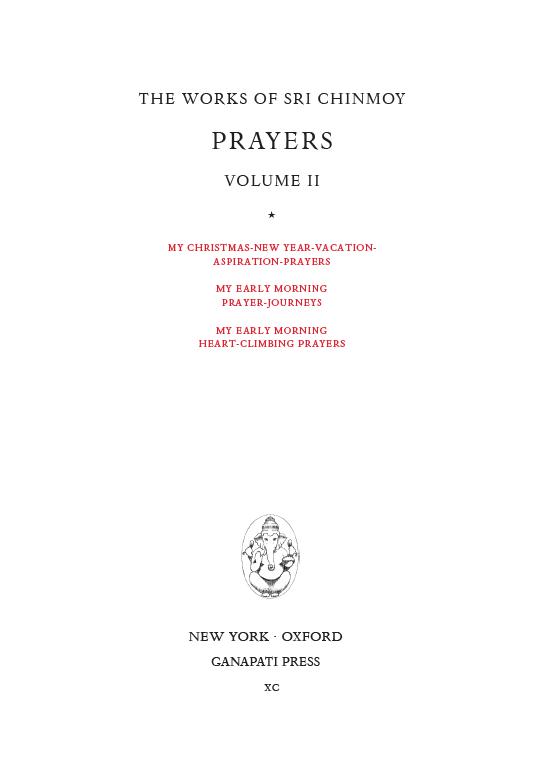 prayers-ii